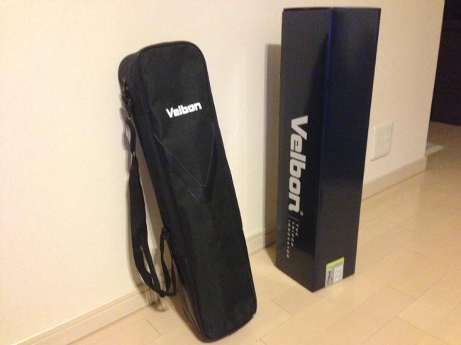 VELBON(ベルボン)の三脚 SHERPA(シェルパ) 645IIを購入