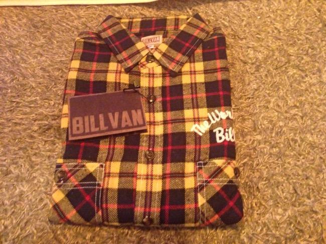 稲妻フェスティバル2014 戦利品 BILLVAN(ビルバン)チェックネルシャツ